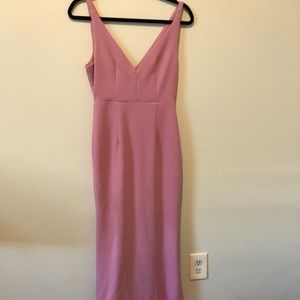Lulu's Dresses - Lulus light pink wedding or event dress